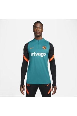 Nike Mænd Kortærmede - Chelsea FC Strike Dri-FIT-fodboldtræningstrøje til mænd