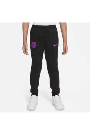 Nike Bukser - FC Barcelona Dri-FIT-fodboldbukser i fleece til større børn