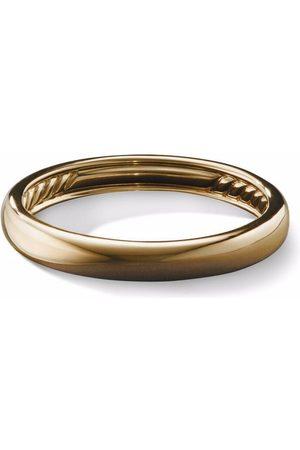 David Yurman Mænd Ringe - Dome ring i 18 karat guld