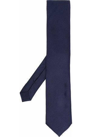 corneliani Mænd Slips - Silkeslips med geometrisk broderi