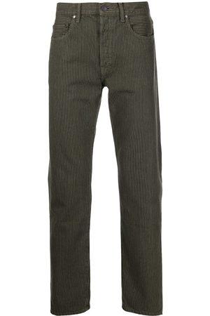 JOHN ELLIOTT Mænd Straight - The Daze jeans med lige ben og striber