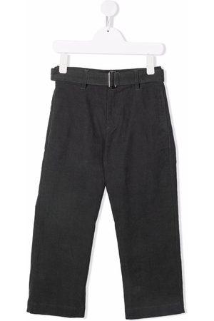 Nº21 Drenge Bukser - Belted straight-legged trousers