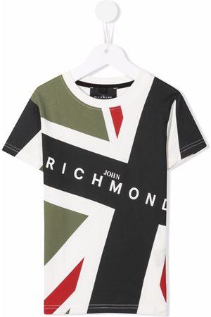 John Richmond Junior Drenge Kortærmede - Logo-print T-shirt