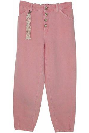 Dondup Piger Bukser - Bambina pantalone Bull in misto cotone
