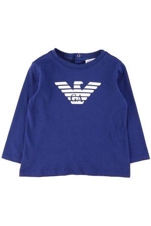 Emporio Armani Kortærmede - T-Shirt - Blue