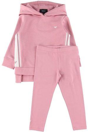 Emporio Armani Sweatshirts - Sæt - Hættetrøje/Bukser - Rosa Petalo