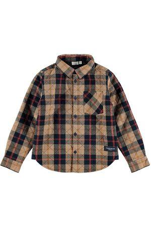 NAME IT Langærmede skjorter - Skjorte - NkmOls - Kelp
