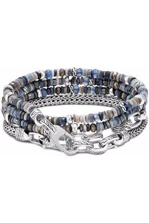 John Hardy Armbånd - Classic Chain armbånd med flere vikle-perler