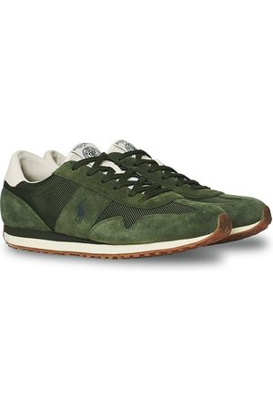 Polo Ralph Lauren Mænd Sneakers - Train 85 Running Sneaker Army Green
