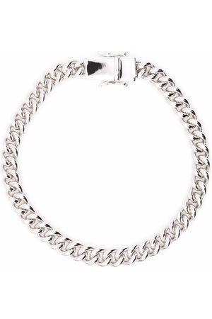 TOM WOOD Thick curb chain bracelet