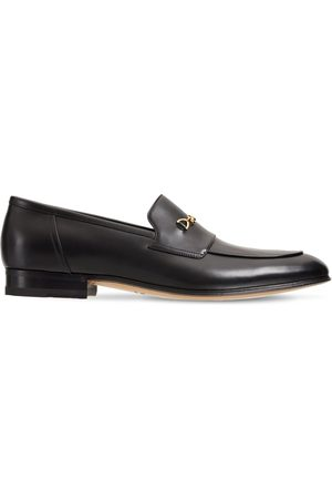 Gucci Leather Loafers W/ Horsebit