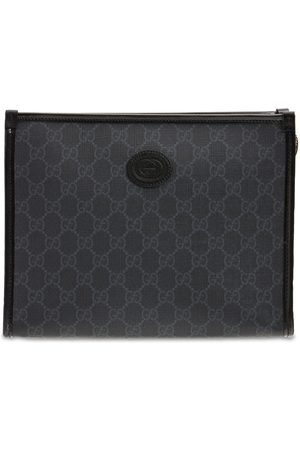 Gucci Gg Supreme Canvas Toiletry Bag