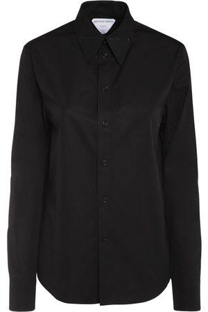 Bottega Veneta Casual Cotton Poplin Shirt