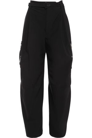 Bottega Veneta Stretch Wool Blend Pants