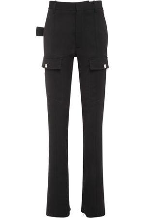 Bottega Veneta Wool Gabardine Long Pants