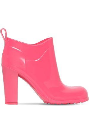 Bottega Veneta Kvinder Ankelstøvler - 90mm Shine Rubber Ankle Boots