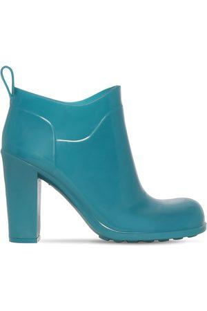 Bottega Veneta 90mm Shine Rubber Ankle Boots