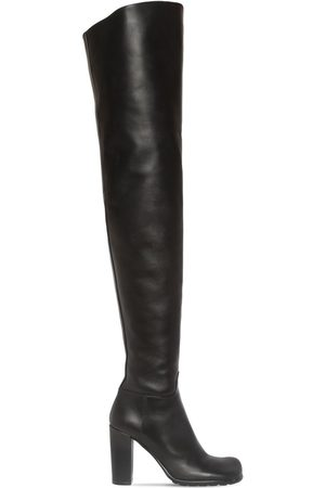 Bottega Veneta Kvinder Lange støvler - 90mm Storm Leather Over-the-knee Boots