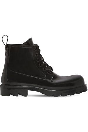 Bottega Veneta 35mm Stride Rubber Lace-up Boots