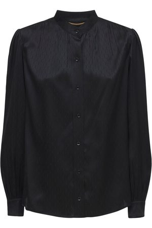 Saint Laurent Kvinder Casual skjorter - Silk Casual Shirt