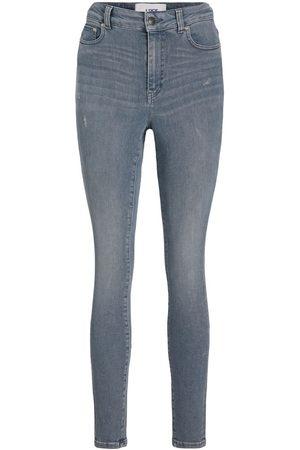 JACK & JONES Mænd Skinny - Jxvienna Hw Rs1002 Skinny Fit Jeans Kvinder