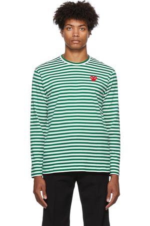 Comme des Garçons Striped Long Sleeve T-Shirt