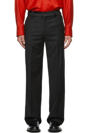 Commission SSENSE Exclusive Pinstripe Carpenter Tailored Trousers