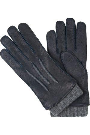 Santa Eulalia Leather and Cashmere Gloves