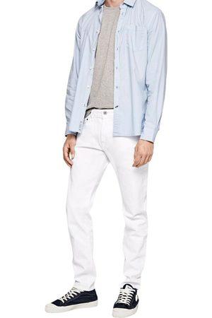 Pepe Jeans Mænd Straight - Jeans Stanley Taper Fit Regular Waist