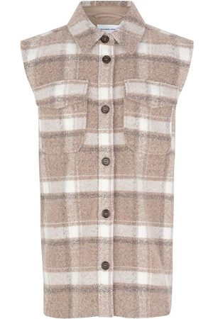 Designers Remix Vest - Uld/Polyester - G Jayden - Check