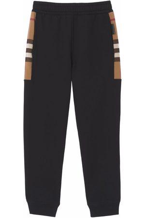 Burberry Mænd Joggingbukser - Check-pattern track pants