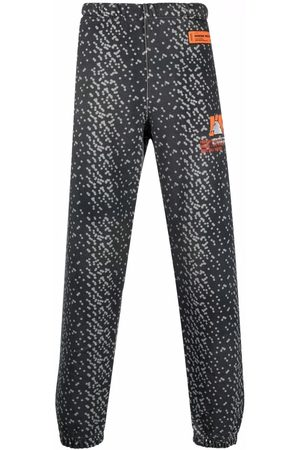 Heron Preston Abstract-spot track pants