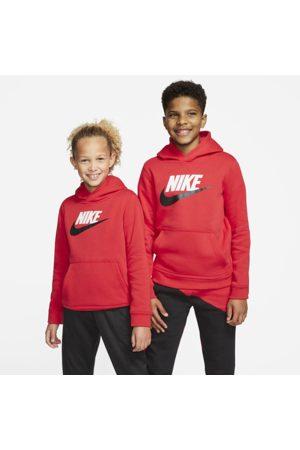 Nike Sportswear Club Fleece-pullover-hættetrøje til store børn
