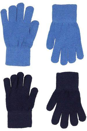 CeLaVi Handsker - Handsker - Uld/Nylon - 2-pak - Bright Cobalt/Navy