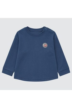UNIQLO Babies Toddler Soft Touch Crew Neck Long Sleeved Top