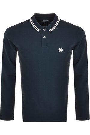 Pretty Green Barton Long Sleeve Polo T Shirt