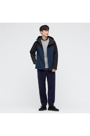 UNIQLO Men Pile Lined Fleece Easy Ankle Length Trousers
