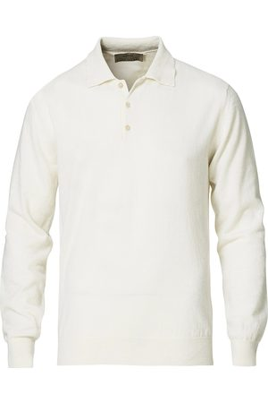 ALTEA Mænd Poloer - Todd & Duncan Cashmere Polo Ice White