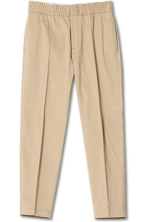 Tiger of Sweden Mænd Chinos - Sosa Brushed Cotton Trousers Cement