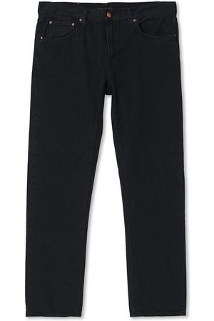 Nudie Jeans Mænd Jeans - Gritty Jackson Black Forest