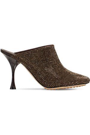 Bottega Veneta Kvinder Pumps - 90mm Sparkle Dot Sock Mules