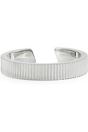 Skultuna Mænd Ringe - Ribbed Ring Steel