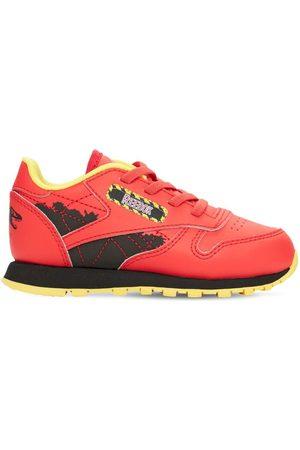Reebok Cl Faux Leather Sneakers