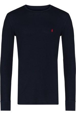 Polo Ralph Lauren Mænd Langærmede - Langærmet T-shirt med broderet logo
