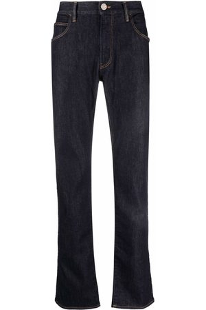 Armani Mænd Straight - Mid-rise straight leg jeans