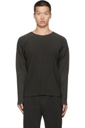 HOMME PLISSÉ ISSEY MIYAKE Color Pleats Spot Long Sleeve T-Shirt