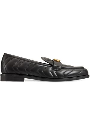 Gucci 15mm Marmont Matelassé Leather Loafers