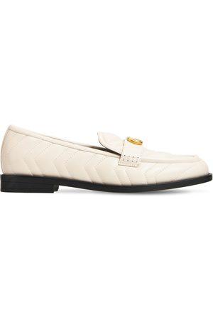 Gucci Kvinder Flade sko - 15mm Marmont Matelassé Leather Loafers