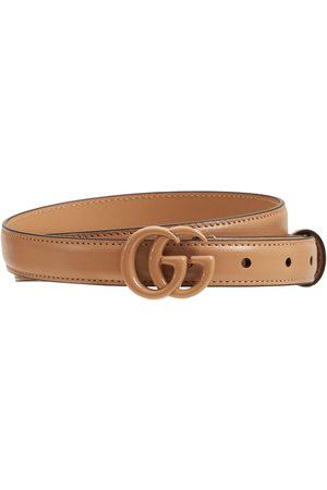 Gucci Kvinder Bælter - 2cm Gg Marmont Thin Belt