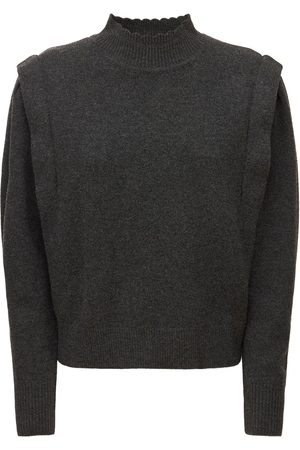 Isabel Marant Lucile Knit Wool Blend Sweater